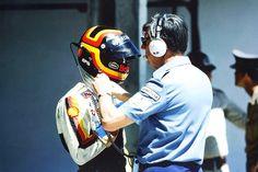 Stefan Bellof and Ken Tyrrell