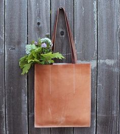 Queen City Leather Tote