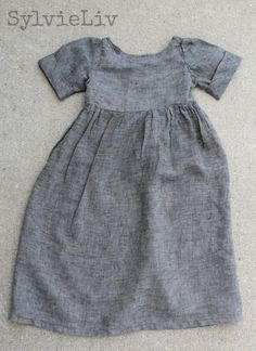 Sylvie Liv: Girls Linen Dress