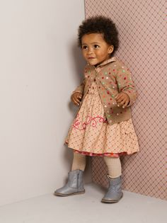 #Oilily Katie Beige With Dots Knit Cardigan - BABY at #ollyseven.com