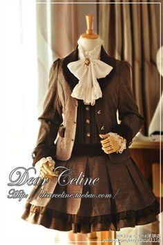 --> Dear Celine New Released Lolita Outfits --> ❤❤Salopette, Ouji Pants… Pretty Outfits, Beautiful Outfits, Cool Outfits, Harajuku Fashion, Lolita Fashion, Old Fashion Dresses, Fashion Outfits, Cute Dresses, Vintage Dresses