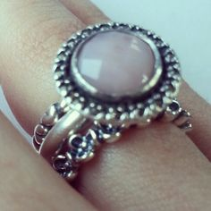 pandora stackable rings ideas - Google Search