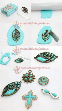 Broches, pendientes, anillos
