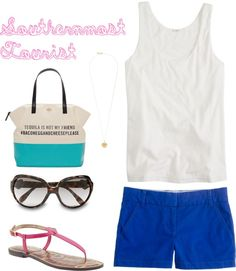 """""""Southernmost Tourist"""" by kayceebrown on Polyvore"""