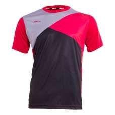 Camiseta Siux Zeus Negro Rojo