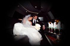 The Limo Ride - Dothan, AL - Kelley & Jordan's Wedding Day