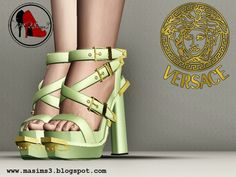 Versace Spring-Summer 2014 Sandals by MrAntonieddu - Sims 3 Downloads CC Caboodle