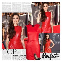 Cher Lloyd~MTV VMAs 2014 by tvshowobsessed on Polyvore featuring polyvore moda style Jimmy Choo fashion clothing
