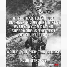 2 stroke any day