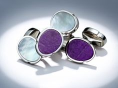 White gold cuff links by Mellerio dits Meller  #MellerioinLove #valentinesday #Vdaygiftguide #giftguide #jewellery