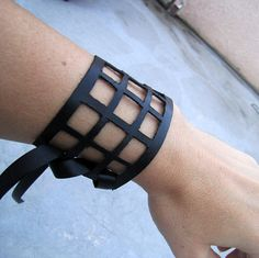 leather-cage-cuff-1 by ...love Maegan, via Flickr