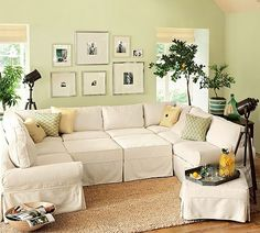 pottery barn, want the couch.