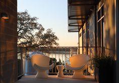 modern patio by Webber + Studio, Architects