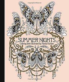 Summer Nights Coloring Book (Innbundet) av forfatter Hanna Karlzon. Pris kr 139. Se flere bøker fra Hanna Karlzon.