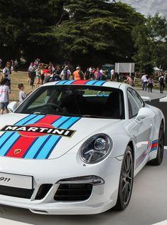 Porsche 911 Martini livery