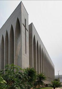 Dom Bosco Chapel, Brasilia - Brazil, Carlos Alberto Naves