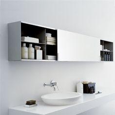 armoire de toilette avec miroir 027 - MOB027 by Benedini Associati AGAPE