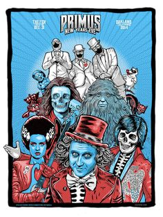 Great show!!!Primus Poster Series - zoltron