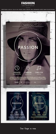 Fashion Flyer / Poster 3 on Behance