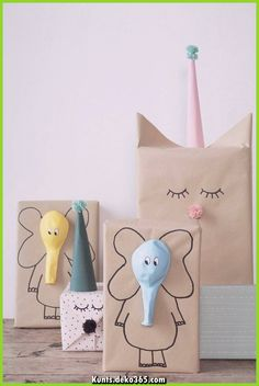 Here are the best DIY gift wrapping ideas for you to wrap the gifts for you friends and relatives on their birthday parties , wedding and for many celebrations! diy gifts Lovely And Unique DIY Gift Wrapping Ideas For 2018 Craft Ideas To Sell Handmade, Diy Gifts For Kids, Sell Diy, Ideas For Gifts, Kids Diy, Gifts For Children, Present Ideas, Kids Gift Bags, Diy Gifts Using Paper