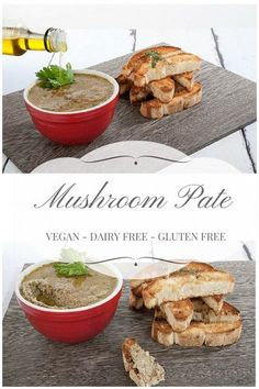 Awesome Mushroom Pate Recipe — Dishmaps
