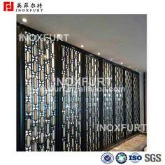 Luxury Stainless Steel Screen Room Divider - INOXFURT -Profestional Producer! Email: nika@inoxfurt.com