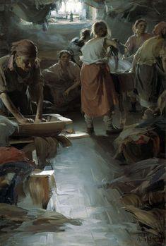 Abram Efimovich Arkhipov – The Washer Women - Imgur