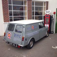 BMC . Abingdon on Thames , (replica) works van .