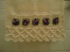 Barrado em crochet