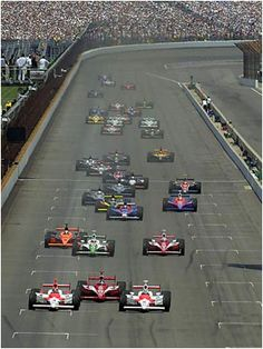 Indy 500 - Indianapolis, IN Indy Car Racing, Indy Cars, Charger Srt, Bmw 6 Series, Indianapolis Motor Speedway, Jaguar F Type, American Sports, Nissan Gt, Nsx