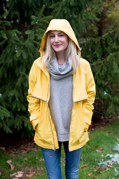 Charles River Apparel Giveaway - Kelly in the City Preppy Style Winter, Preppy Winter Outfits, Duo Boots, Blank Nyc Jeans, Charles River, Yellow Raincoat, Rain Wear, Winter Wear, Giveaway