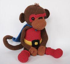 Super monkey Zoef от Amigurumisnl на Etsy, $5.00