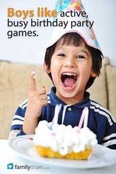 Throw a boy bash: 5 games for boy birthday parties