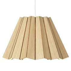 Model No. 1 pendant lamp, oak