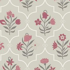 Bagh e Fiza Designer Wallpaper from Nilaya by Asian Paints