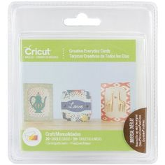 Cricut Project Cartridge-Creative Everyday Cards - ValuCrafts.com