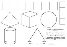 shading and value; and a list of interactive art websites for kids