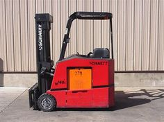 2002 #Schaeff W40SRS188TCO #usedforklifts for Sale - Capacity: 4,000 - Mast: 83 / 189 TSU   - W/36V BATTERY, S/S, WEIGH-TRONIX SCALE #materialhandling