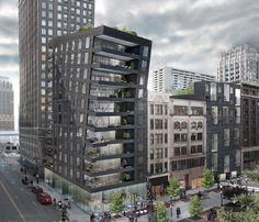 Exclusive: Two New Residential Buildings Planned for Detroit's Capitol Park…