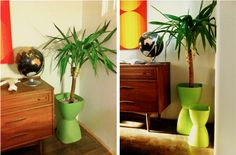 DIY: A Hip Mid-Century Modern Planter for Under $15