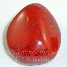 Red Jasper Stone For Energy, Strength, Stamina and Spiritual Grounding