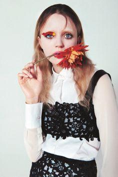 Model Esmeralda Seay-Reynolds; Photographed by Sofia Sanchez & Mauro Mongiello; Fashion Editor Felipe Mendes.