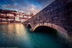Looe Bridge, Looe, Cornwall, England