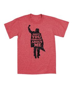 This Heather Red 'Forget About Me' Tee - Men by KidTeeZ is perfect! #zulilyfinds