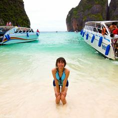 "Some of the most beautiful beaches in the world can be found in Thailand. Located on Phi Phi Lee Island are Maya Bay and Maya beach, this beach was made popluar from the movie ""The Beach"" with Leonardo DiCaprio. Maya Bay is consistently rated as one of the top beaches in the world."