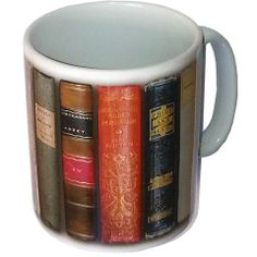 Jane Austen Books Mug. Have a booklover as a friend? Perfect gift.