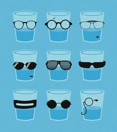 {glasses in glasses}