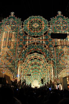 Kobe Luminarie light festival, Hyogo, Japan 神戸ルミナリエ
