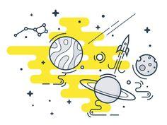 Space travel by Egor Kosten