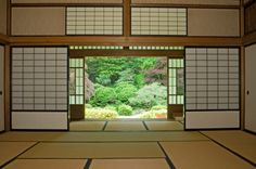 I also love the rice paper doors...